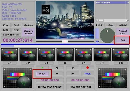 Smart Cutter for DV and DVB