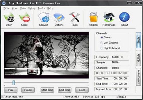 Any Media to MP3 Converter