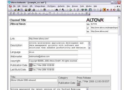 AltovaXML Community Edition