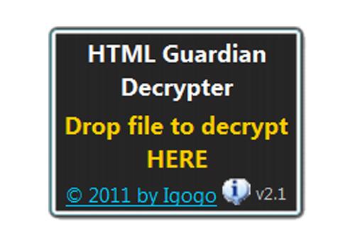 Html guardian decrypter download - Er finestra android ...