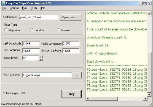 Easy Ovi Maps Downloader