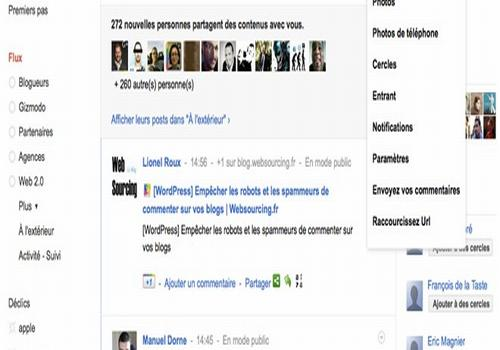 Google+ Manager