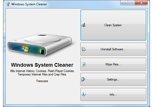 Windows System Cleaner