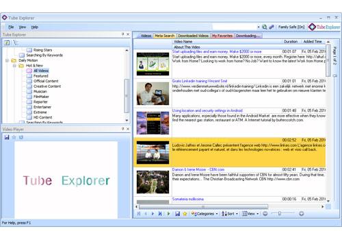 Tube Explorer Lite Edition