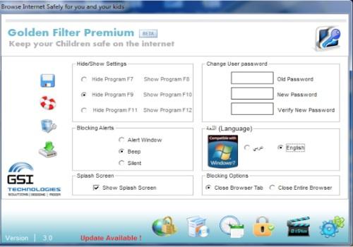 Golden Filter Premium