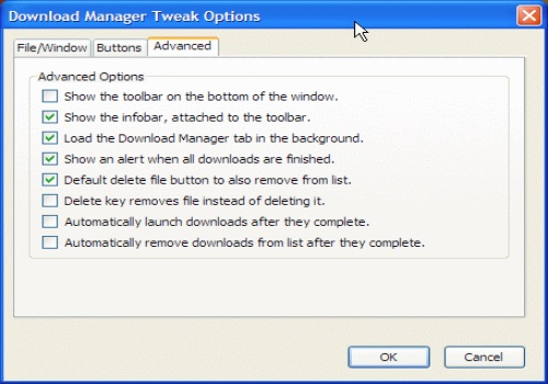 Download Manager Tweak