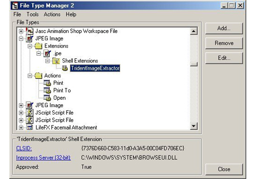 Portable File Type Manager