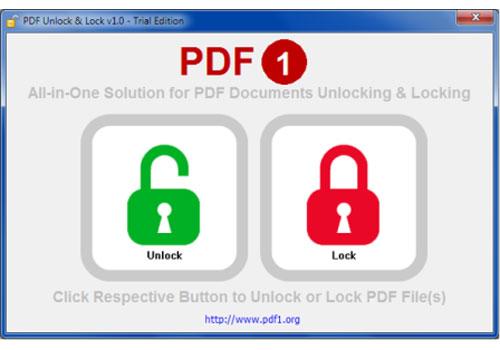 PDF Unlock & Lock