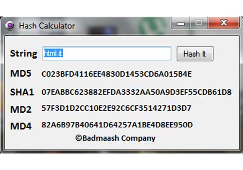 Hash Calculator