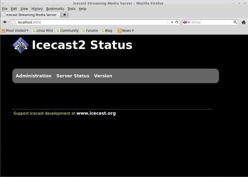 Icecast Streaming Media Server