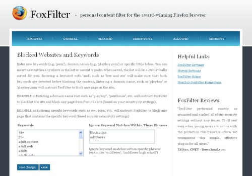 FoxFilter