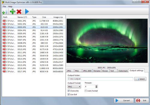 Multi Image Optimizer Pro