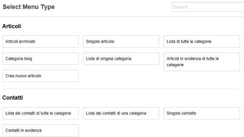 Posizionamento dei moduli tramite il Site Manager