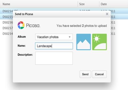 Uploader Picasa