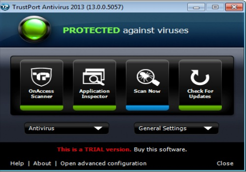 TrustPort Antivirus for Servers 2013