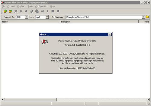 CooolSoft Power Flac CD Maker