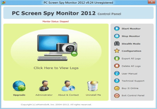PC Screen Spy Monitor
