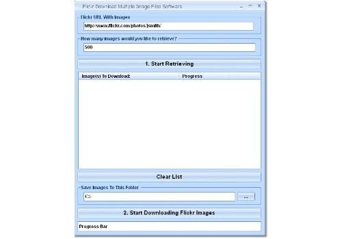 Flickr Download Multiple Image Files Software