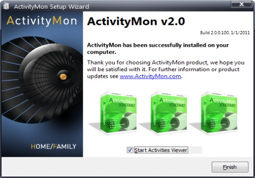 ActivityMon Home/Family