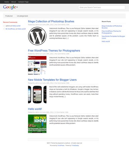 WP Plus trasforma WordPress in Google+