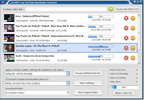 ChrisPC Free YouTube Downloader Converter