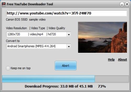 Free Youtube Downloader Tool