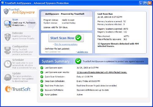TrustSoft AntiSpyware