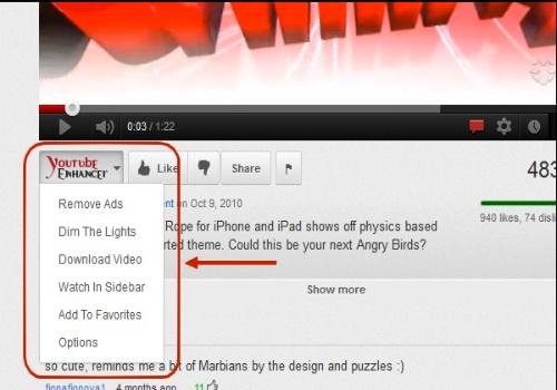 YouTube Enhancer Plus