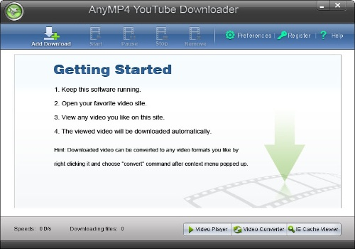 AnyMP4 YouTube Downloader
