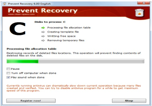 Prevent Recovery