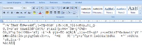 Il file crittografato con Boxcryptor