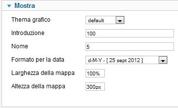 Personalizzazioni grafiche in iCagenda per Joomla