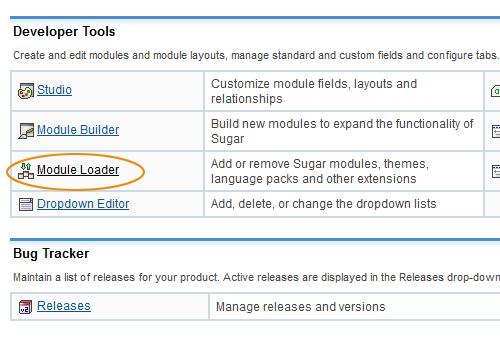 SugarCRM Developer Tools