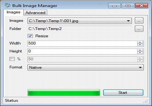 Bulk Image Manager