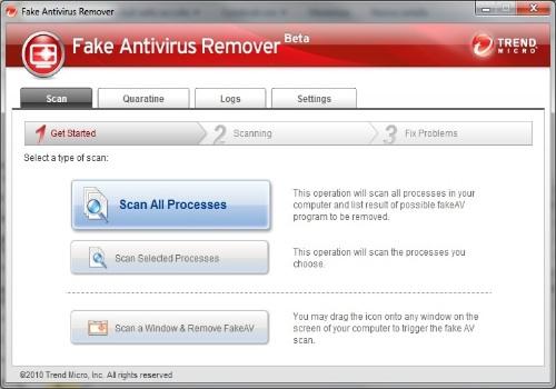 Fake antivirus Remover
