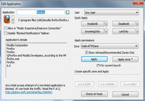 Windows 7 Firewall Control Free