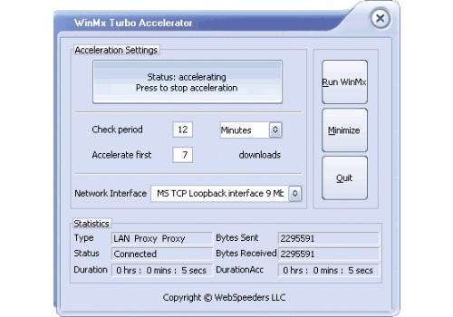 WinMX Turbo Accelerator