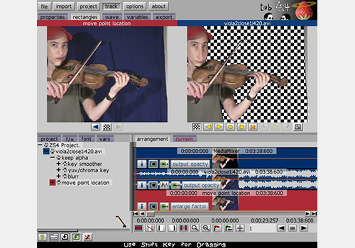 t@b ZS4 Video Editor