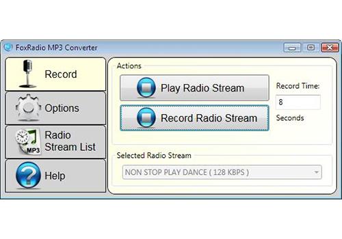 FoxRadio MP3 Converter