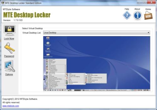 MTE Desktop Locker Standard Edition