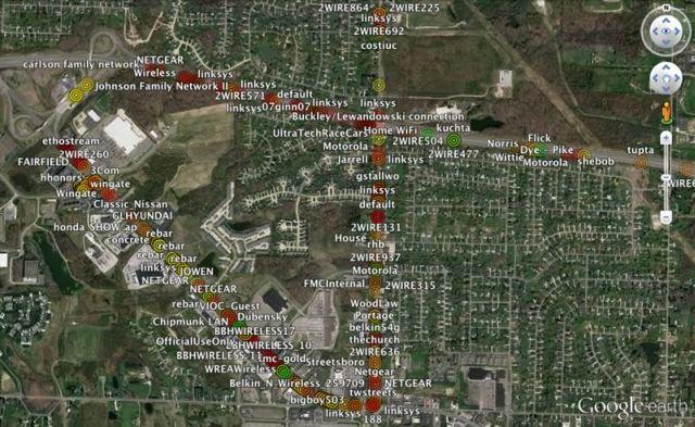 Mappa GPS con Kismet