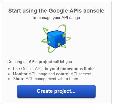 Creazione di un API project