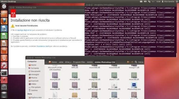 Fase finale dell'installazione di Adobe Photoshop CS6