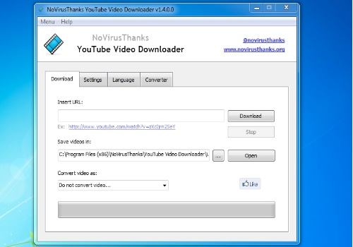 NoVirusThanks YouTube Video Downloader