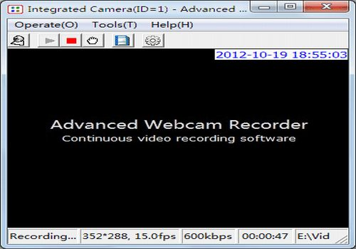 Advanced Webcam Recorder