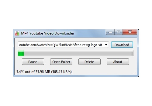 MP4 Youtube Video Downloader