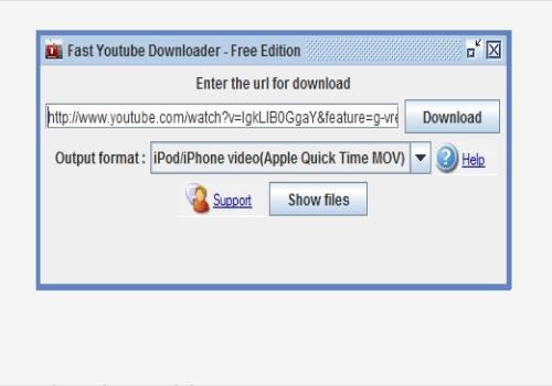 Fast Youtube Downloader