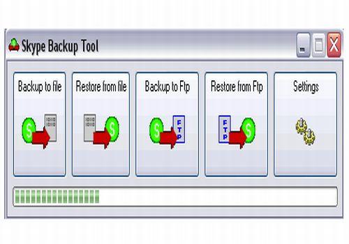 Skype Backup Tool