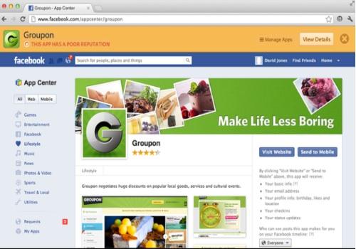 App Advisor for Facebook
