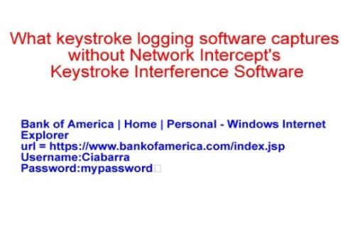 Keystroke Interference